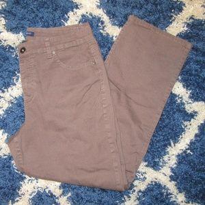 Bandolino Mandie Medium Brown Jeans 14P